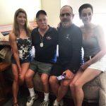 Dad + 3 kids
